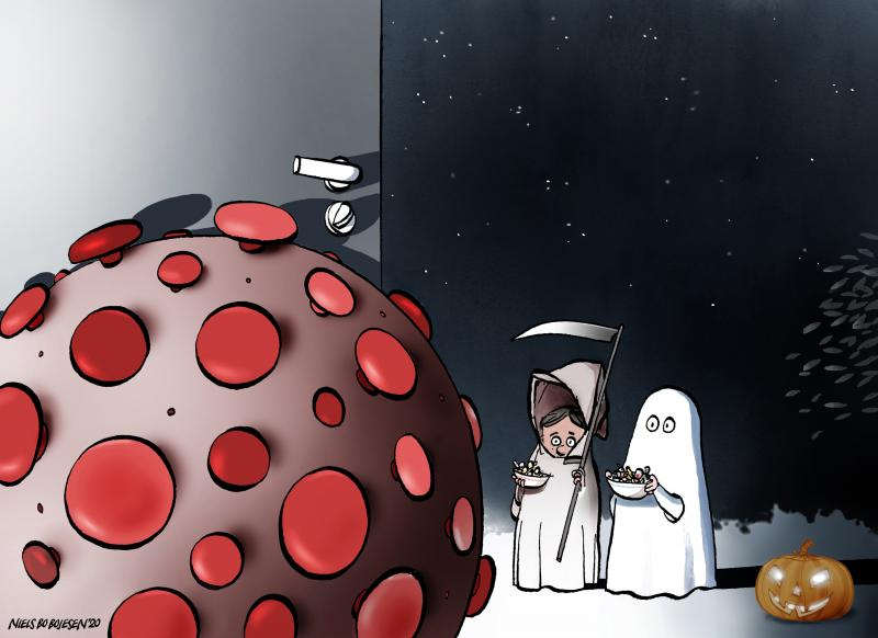 Halloween in the year of the pandemic.