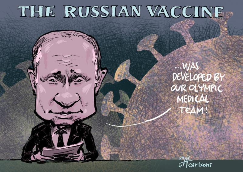 Putin explaining the corona vaccine