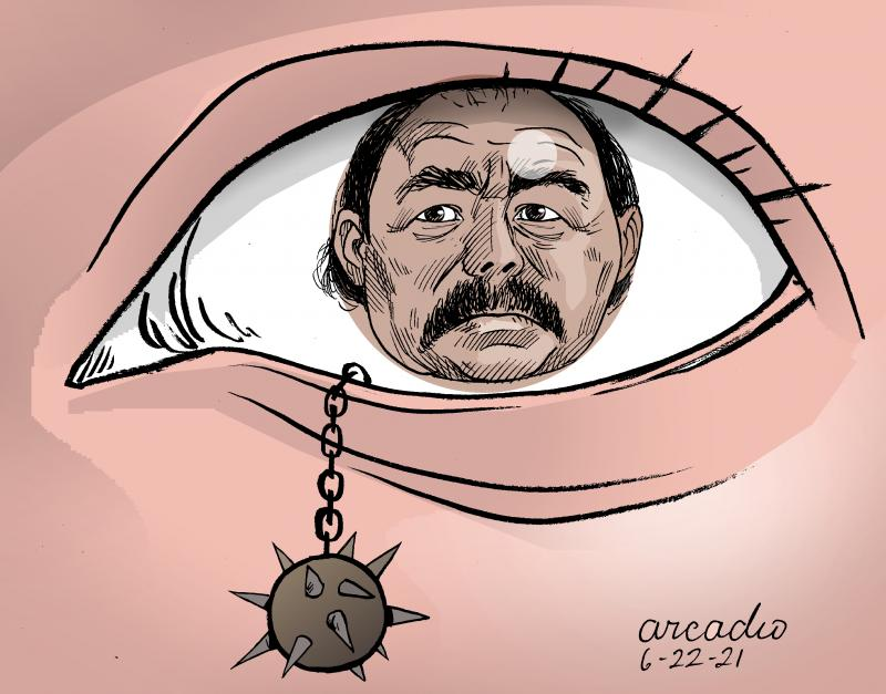 Five presidential candidate detained in Nicaragua.