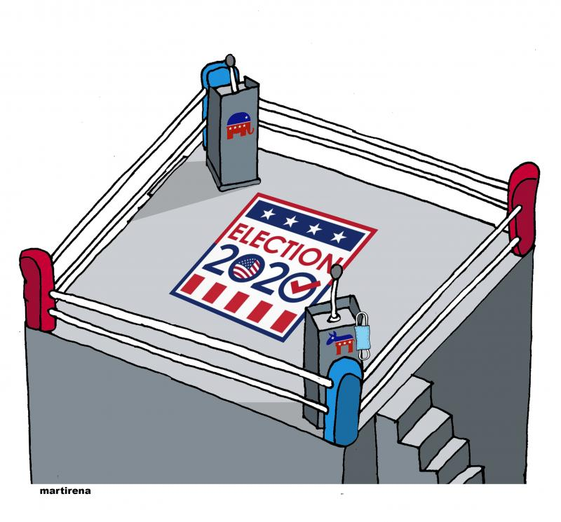 Electoral debate in the USA