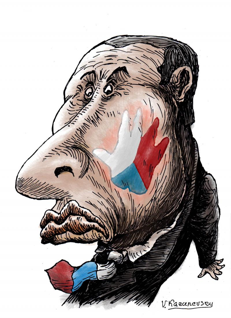 Diplomatic scandal between the Czech Republic and Russia.