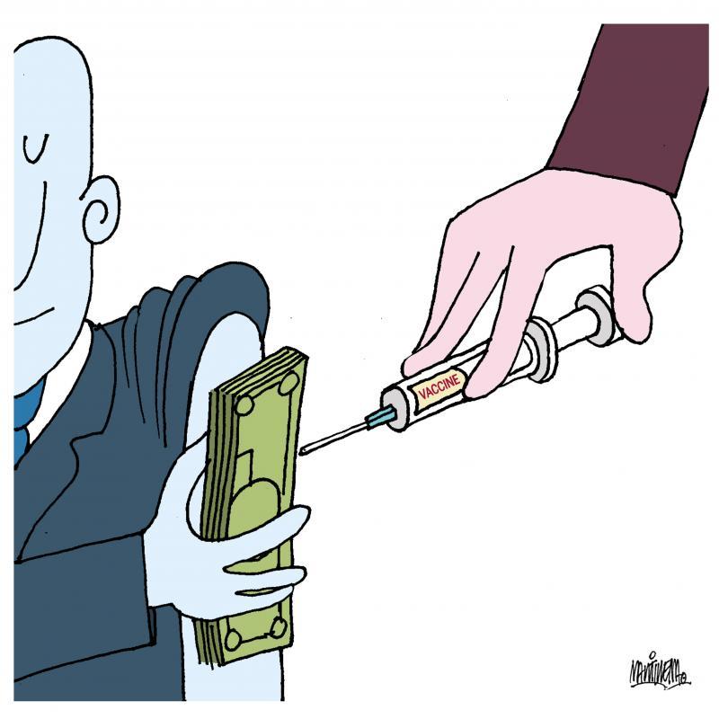 Economic power before the vaccine