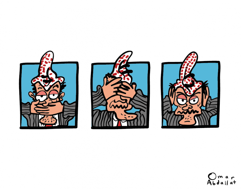 Jordanian artist arrested over cartoon
