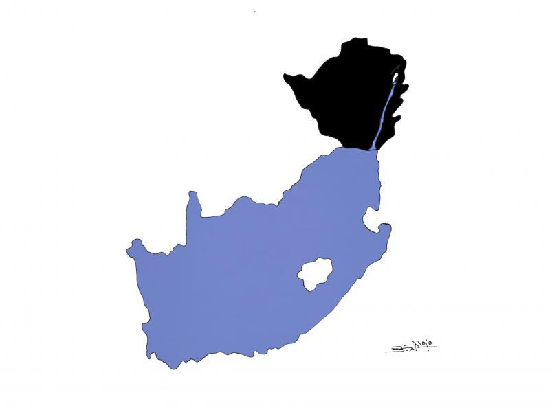 Zimbabwean refugees flood South Africa