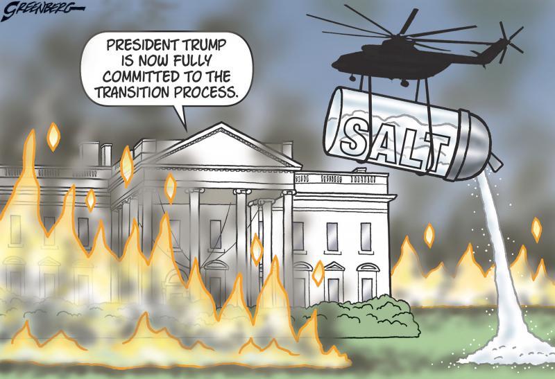 Trump leaves a scorched-earth landscape for Joe Biden.