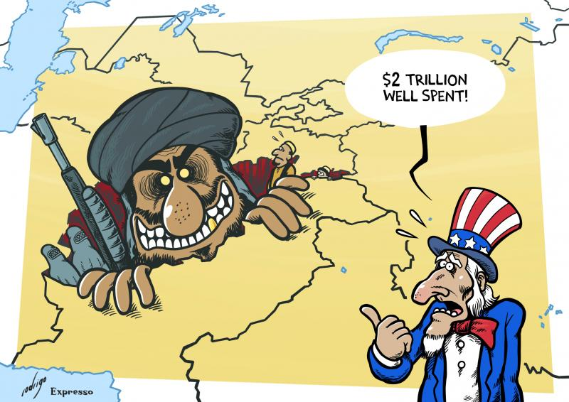 The US spent $2.26 trillion in Afghanistan
