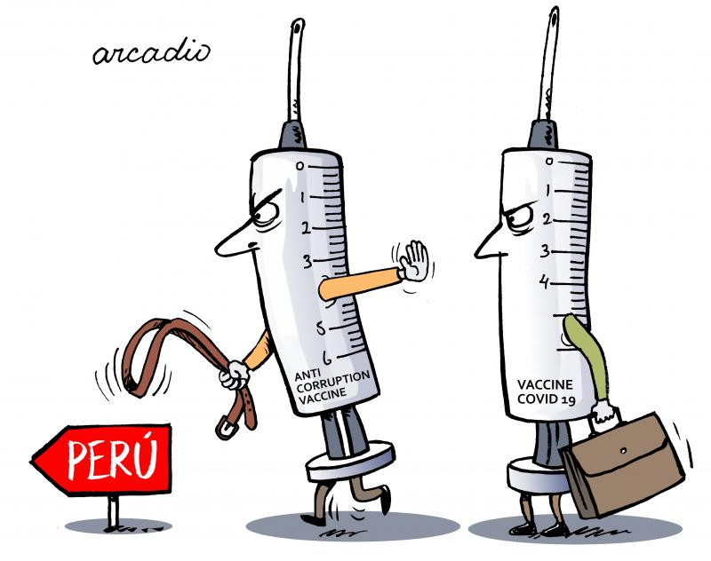 The corruption culture has involved vaccines in Peru.