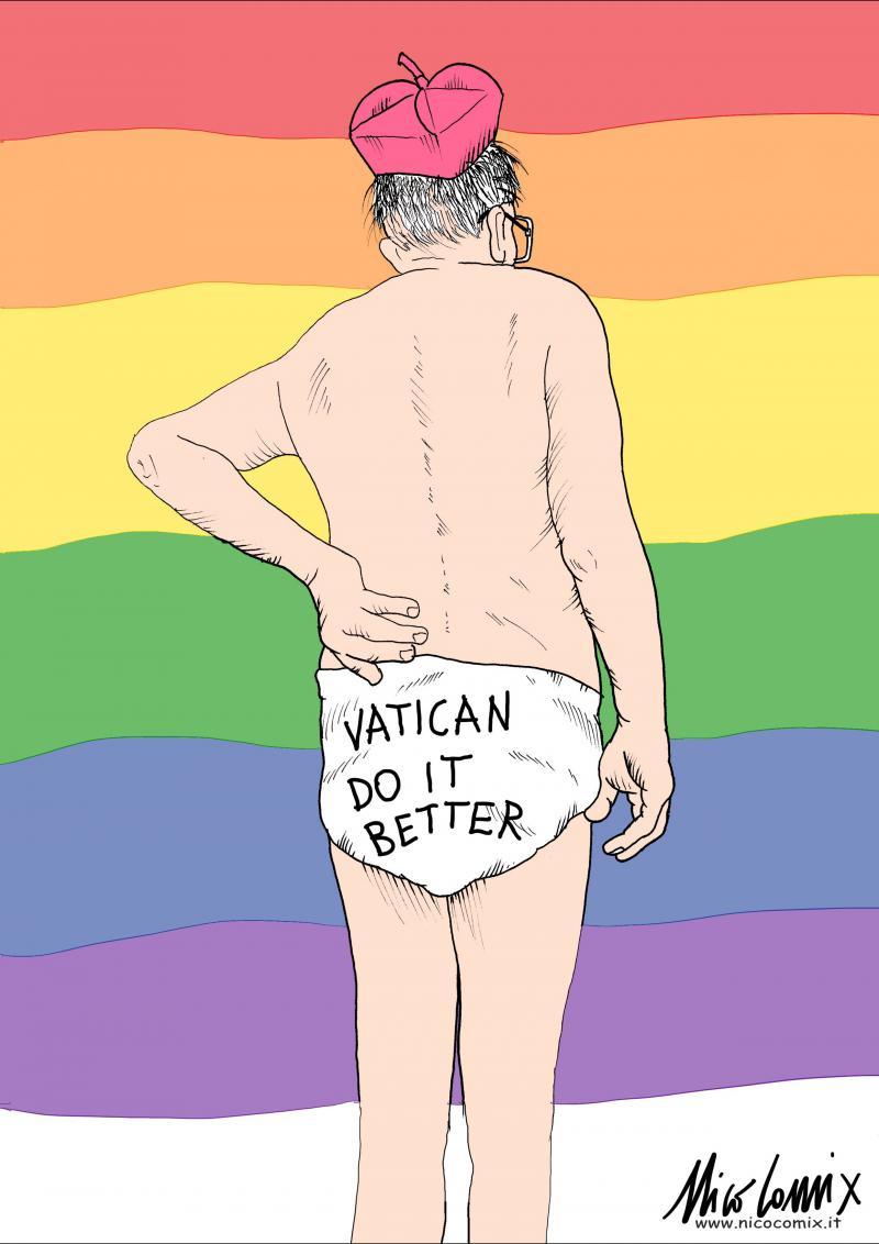 Vatican do it better - Ddl Zan