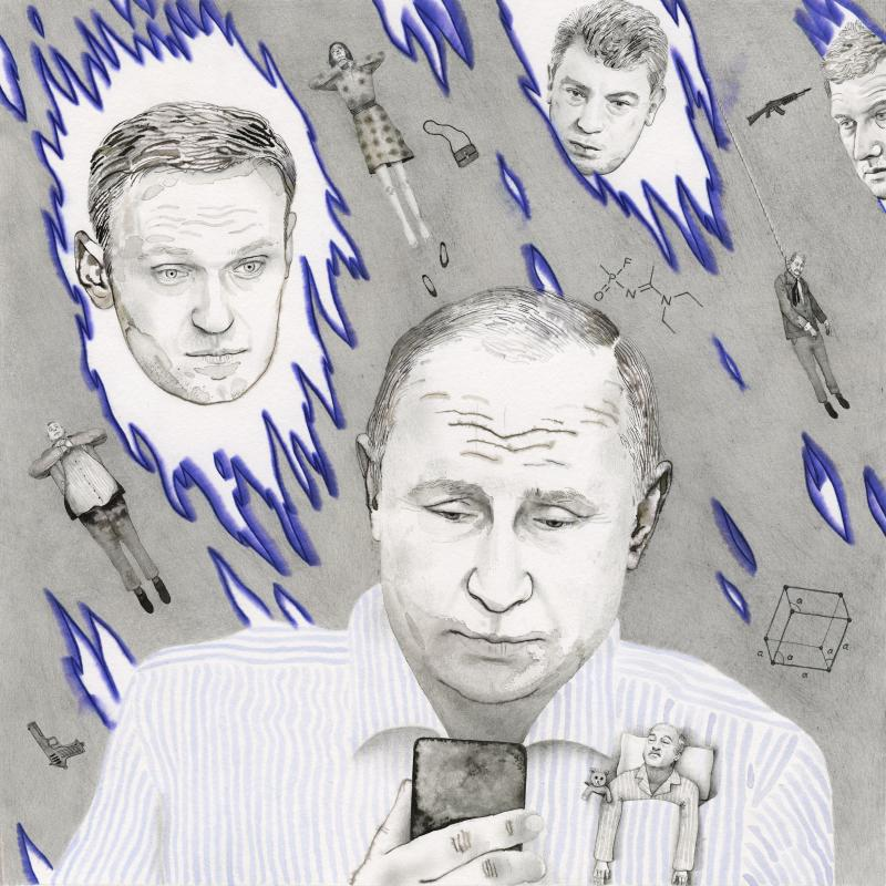 Putin and his critics