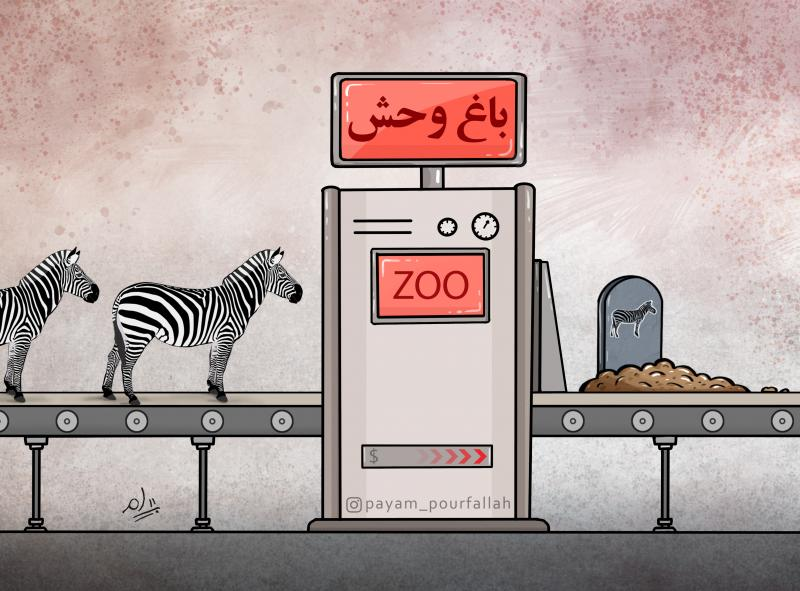 A zoo is the only place where all the PRISONERS are INNOCENT.