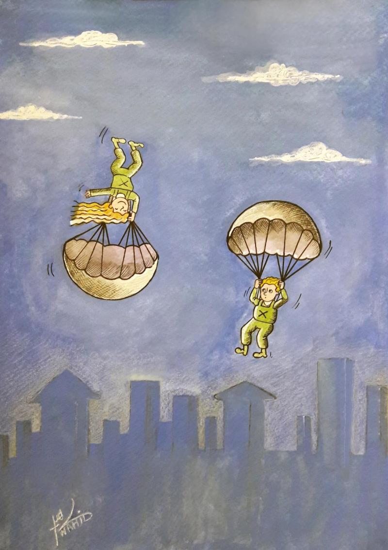 Women's route,the sky,High goals,Towards the sky,sky,women