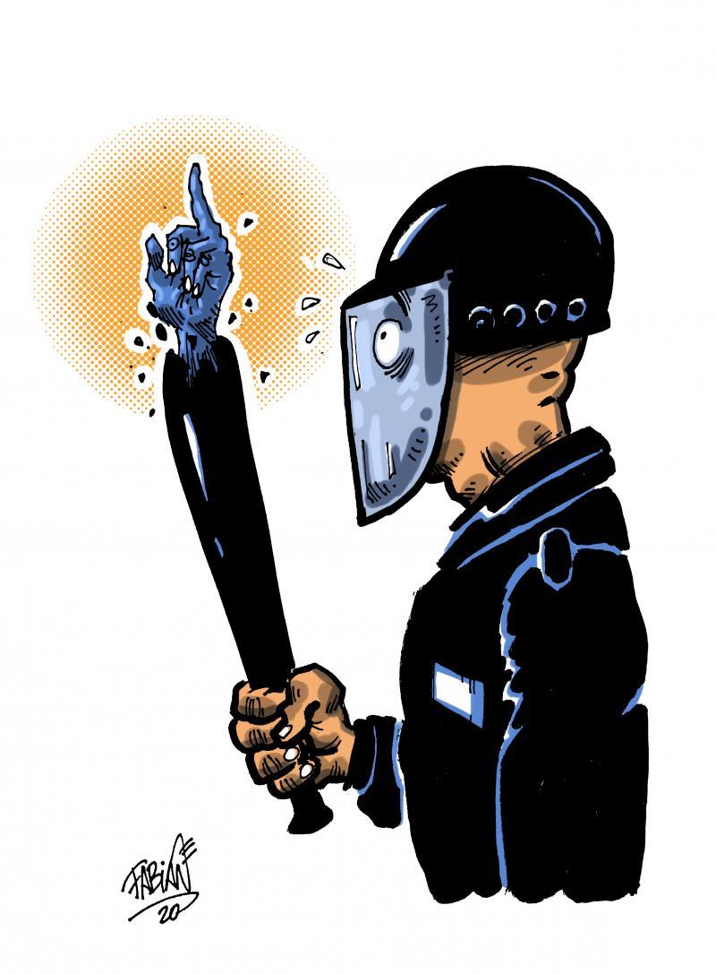 Against repression