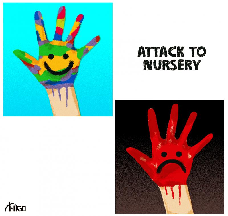 Attack to nursery