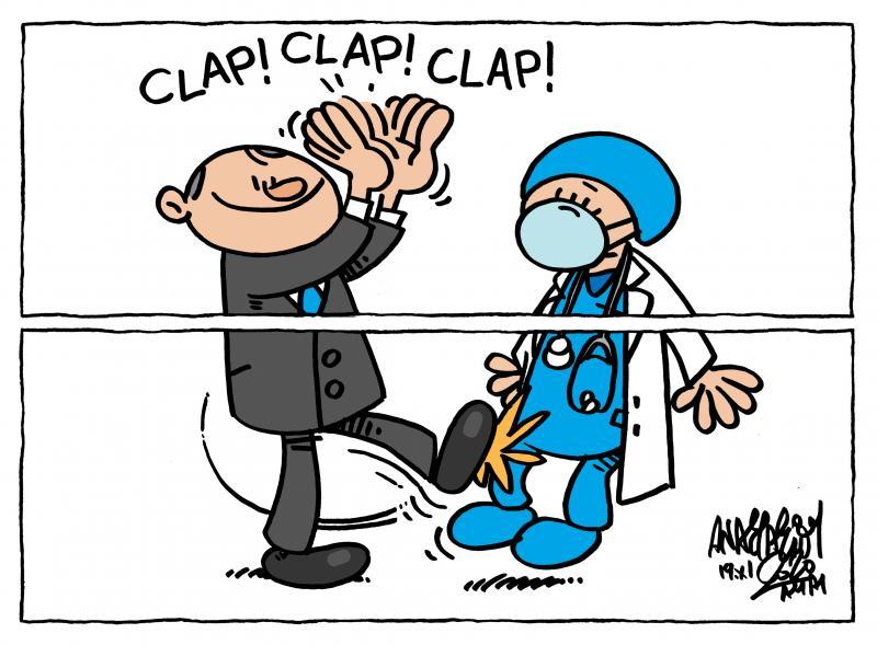 Cartoon about healthcare