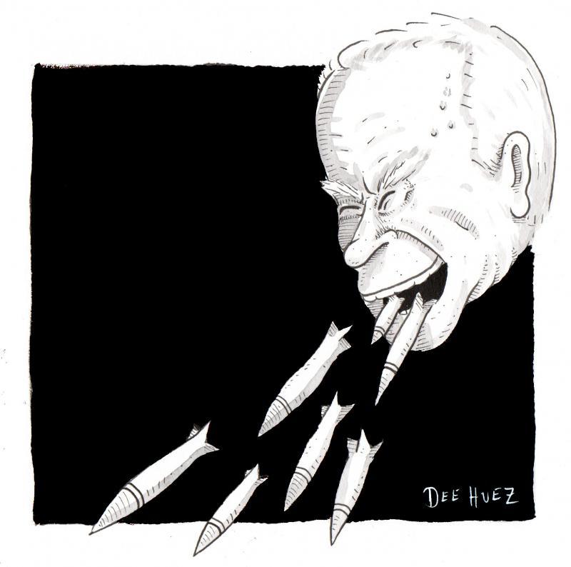 Biden starts his bombing campaign