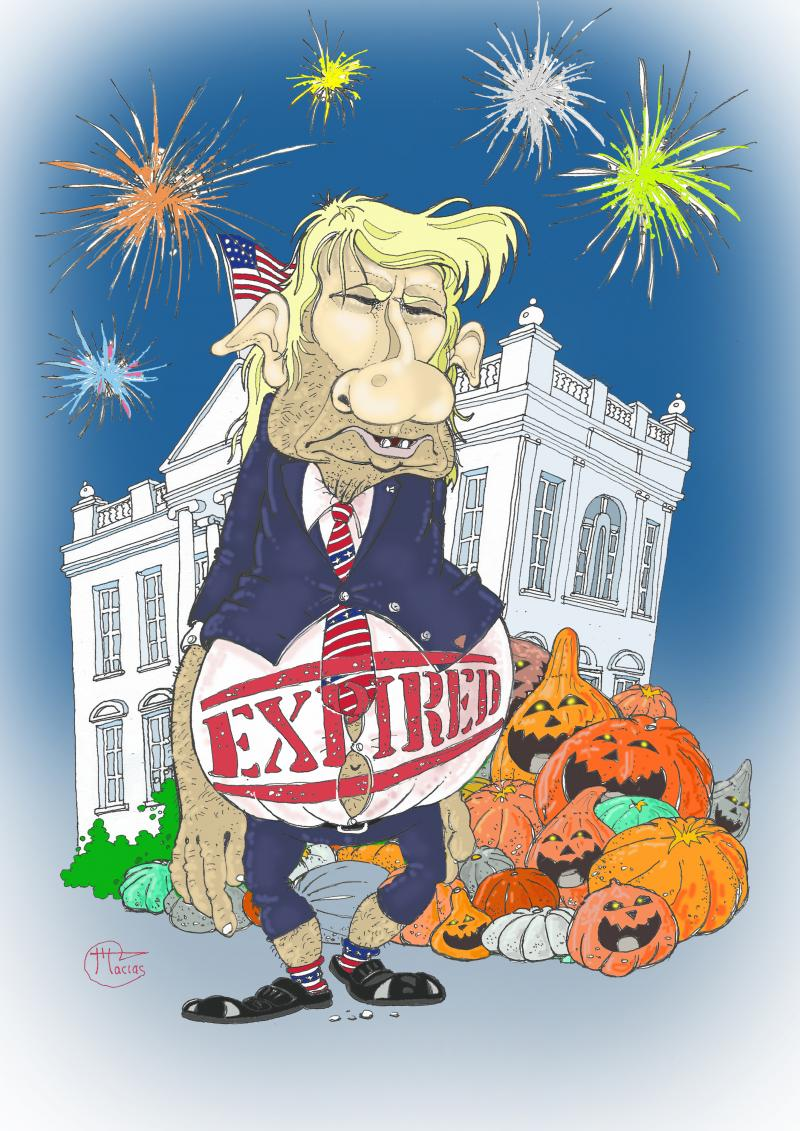 The US proposes as a commemorative day the exile of Trump.