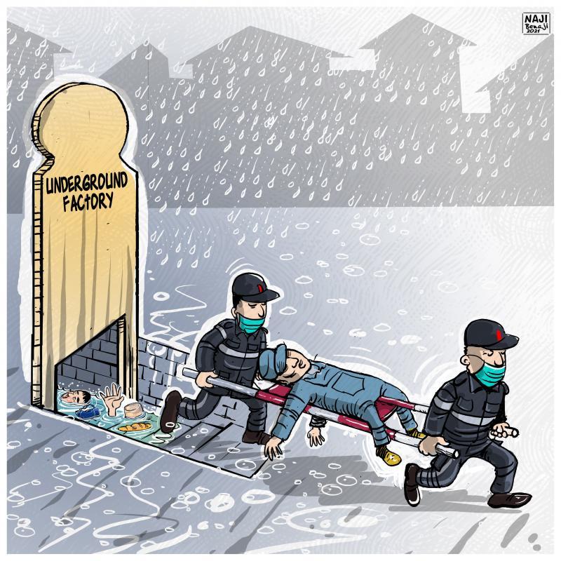 "Tangier drama: 28 dead in a ""clandestine"" workshop"
