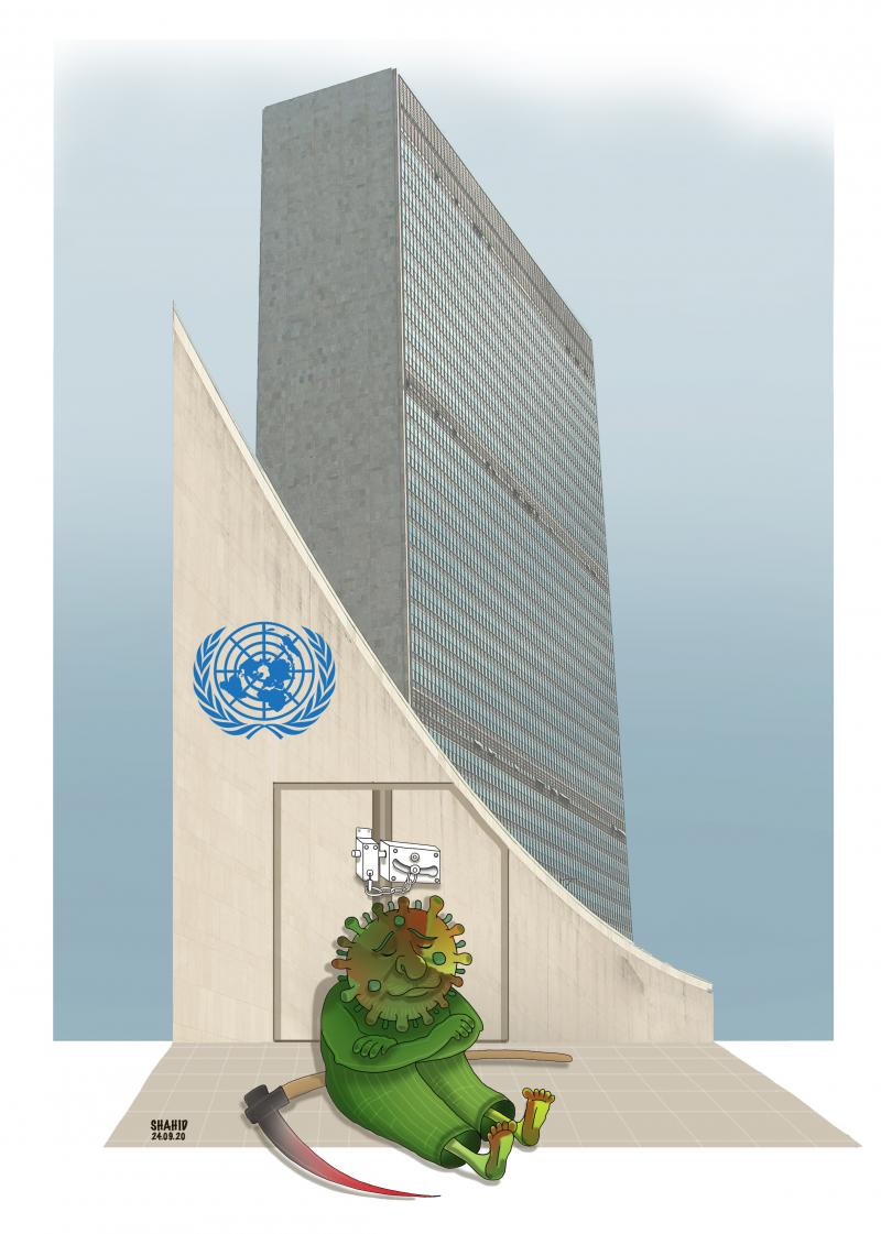 Coronavirus causes the closure of the UN general assembly!