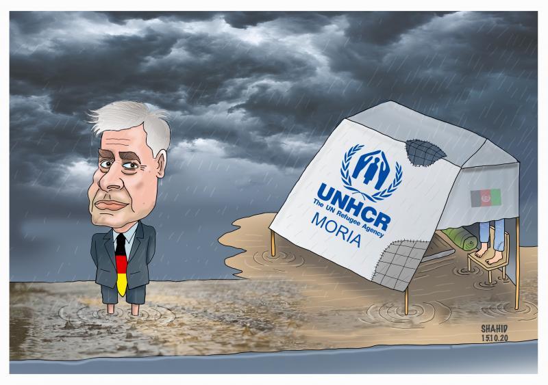 Moria refugee camps !