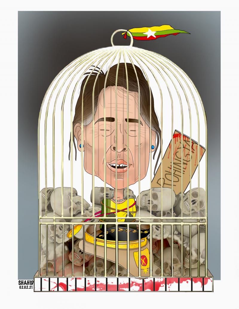 Aung San Sau Kyi, ROHINGYA !