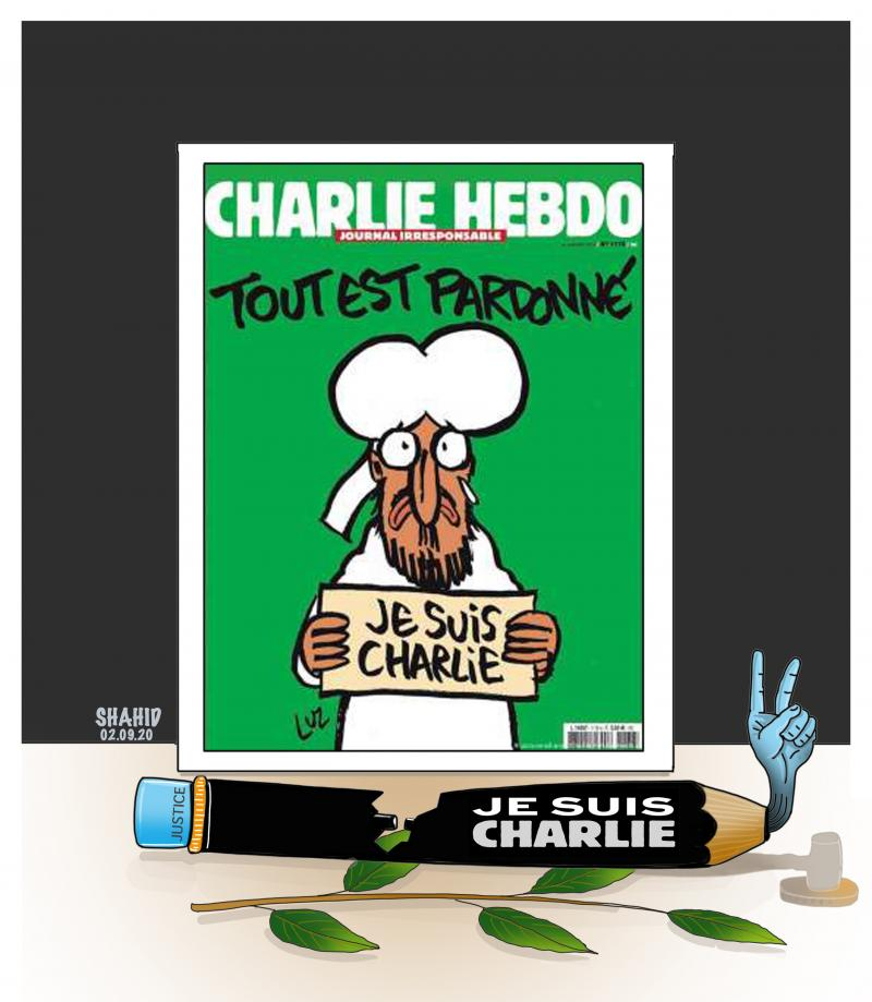 Justice for Charlie Hebdo !