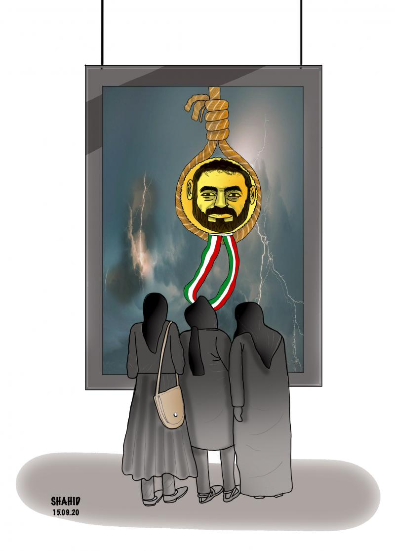 IRAN executes a medalist-AFG frees executable murderers !