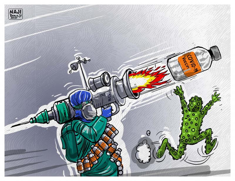 Pharmaceutical companies declare war on Corona