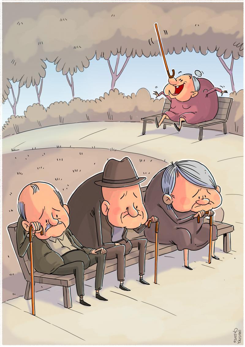 Cartoon about finding joy.