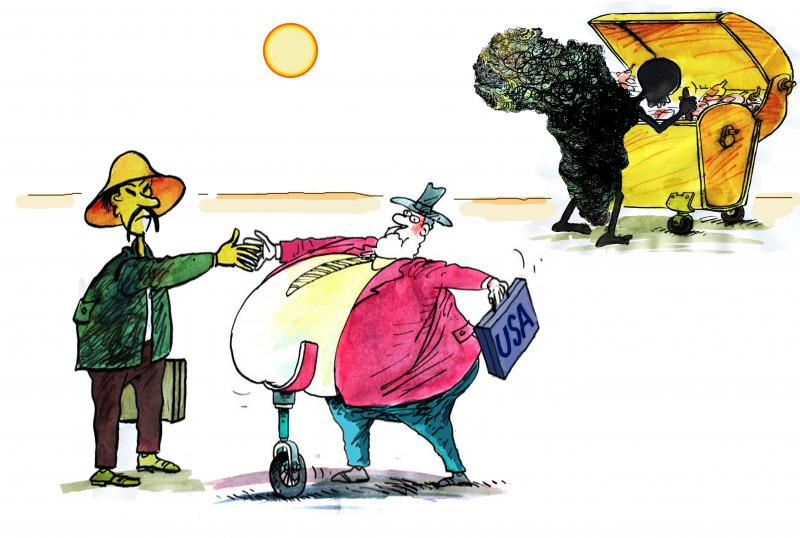 Cartoonabout global food production