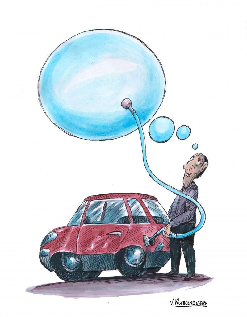 Cartoon about alternatie sources of energy