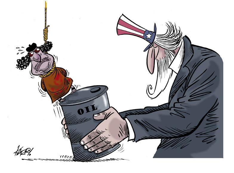 Cartoon about Libya and Gaddafi