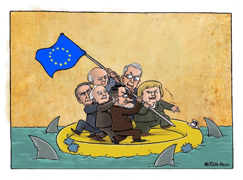 Cartoon about the European Union