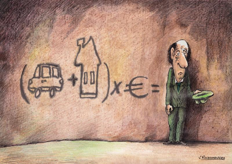 Cartoon about poverty
