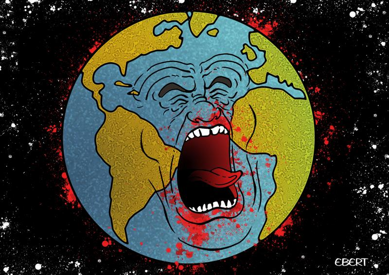 Cartoon about the earth