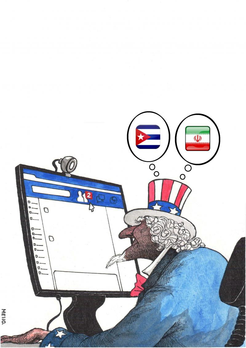 Cartoon about the USA