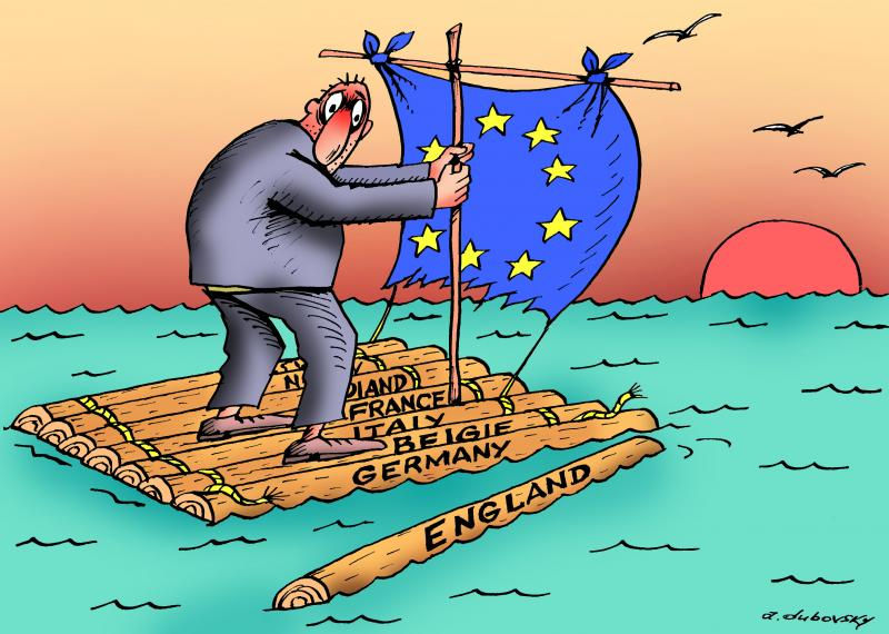 Cartoon about Brexit