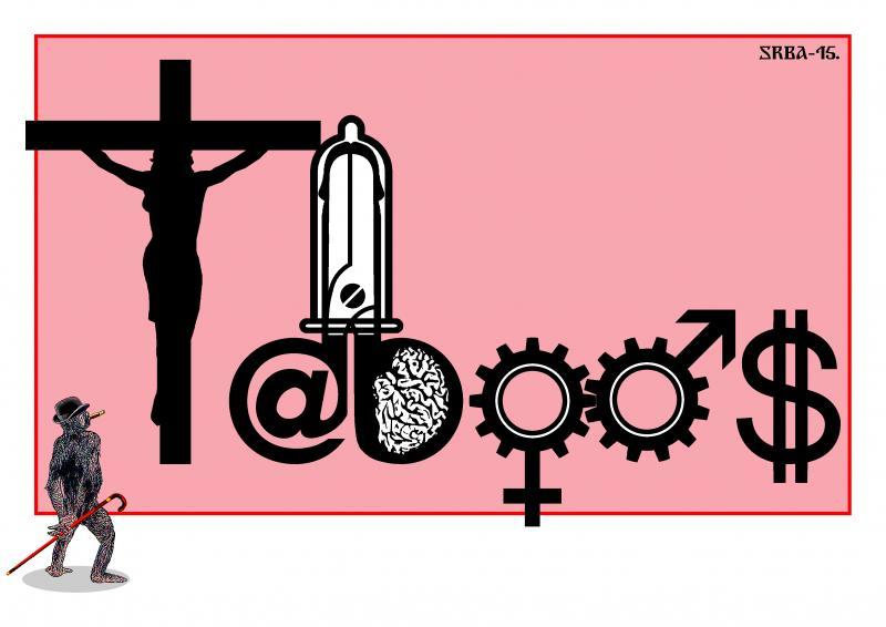 Cartoon about taboos