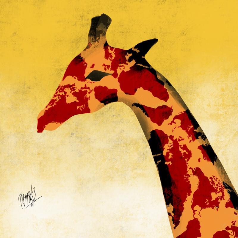 Cartoon about extinction