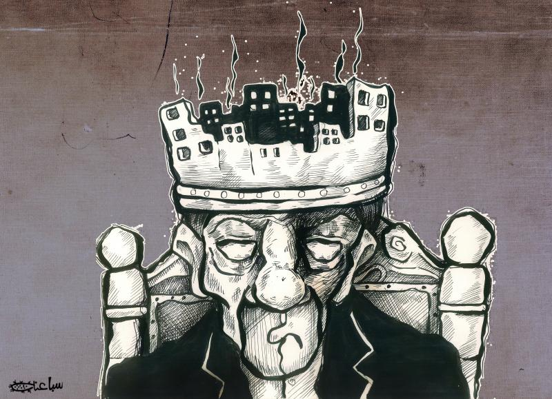 Cartoon about a dictator