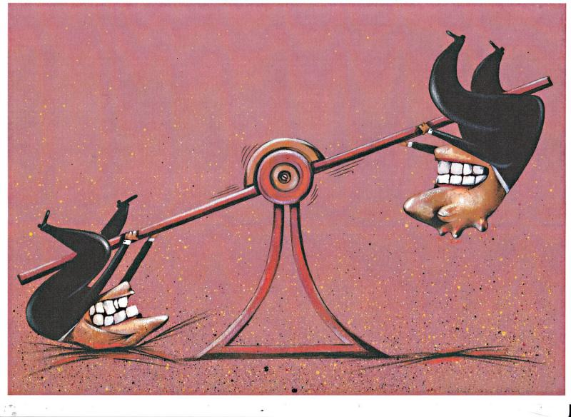 Cartoon about politics