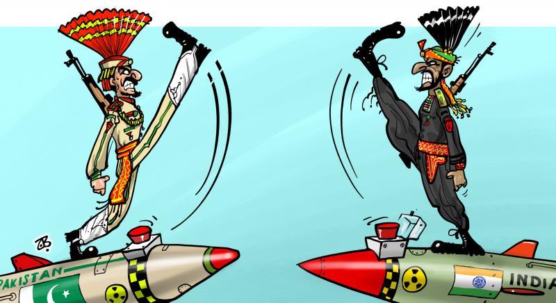India Vs Pakistan | Cartoon Movement