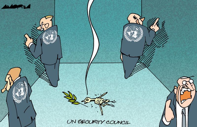 Cartoon about the UN