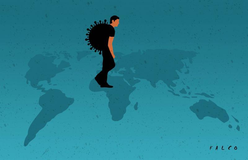 Pandemic around the world
