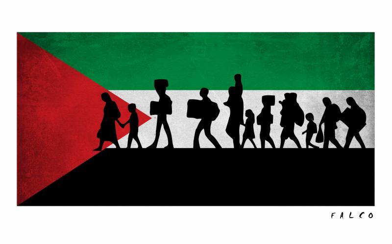 Palestinians returning home