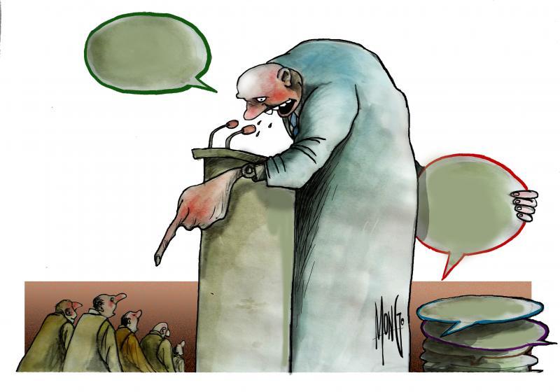 Falsos discursos, falsos políticos que nos representan