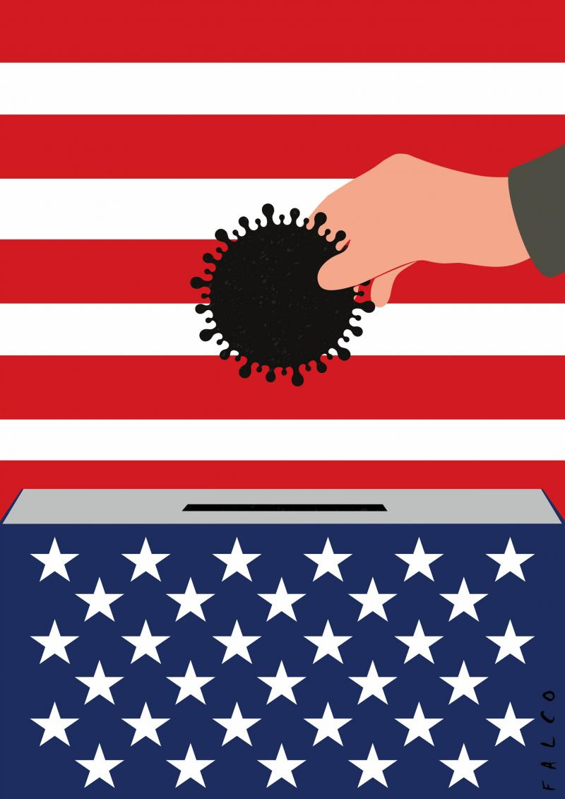 Elections in the USA with Covid