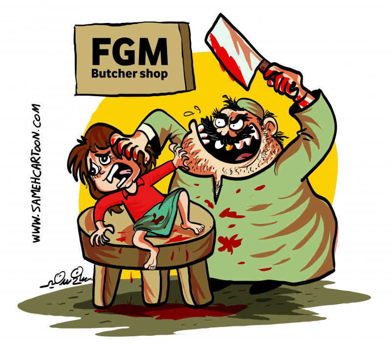 Against female genital mutilation