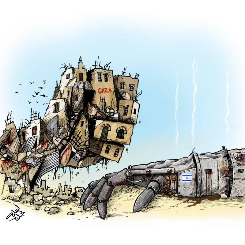Gaza under attack