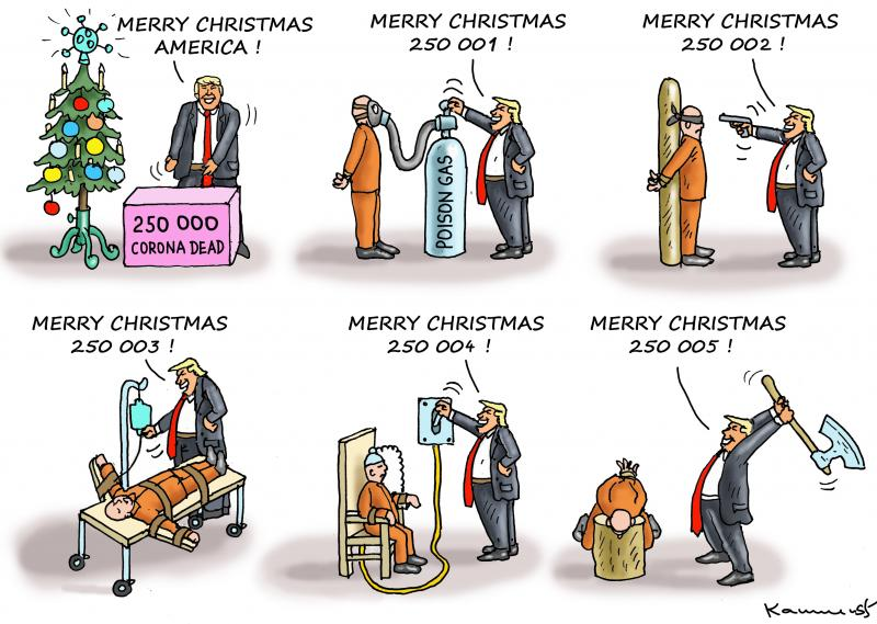 GIVING PRESENTS FROM TRUMP