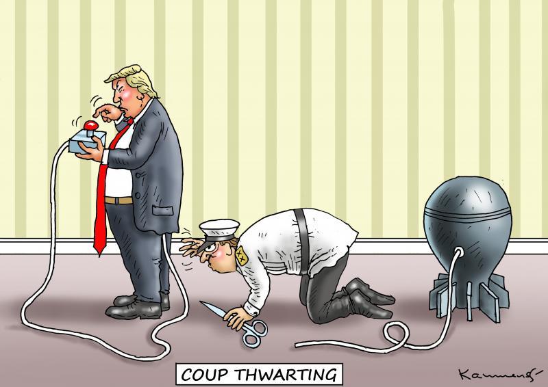 Coup thwarting